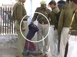 Dalit girl police torture