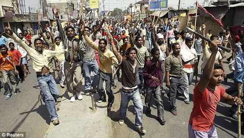 Dalits protest in punjab