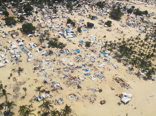 Sri lanka no fire zone aerial
