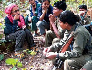 Arundhati roy maoist naxalite adivasi green hunt chhattisgarh