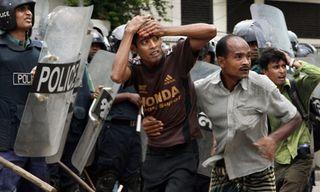 Bangladesh garment workers police