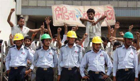 India workers strike maruti suzuki