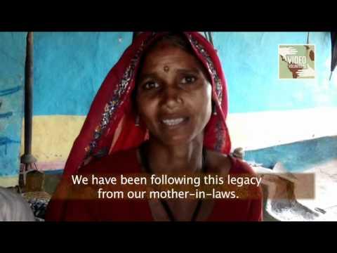 Dalit woman footwear untouchability