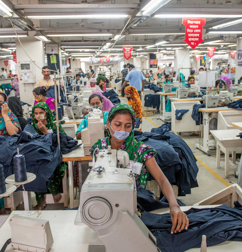 Bangladeshi garment workers women