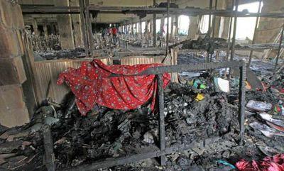 Bangladesh garment factory fire tazreen