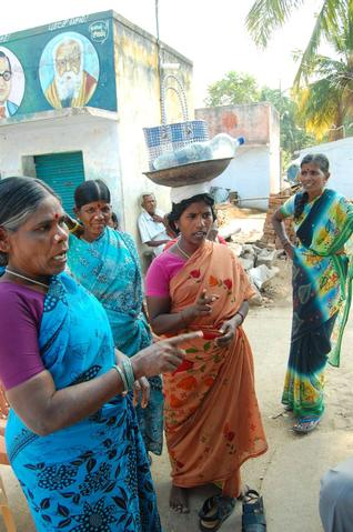 Dalit women deveerahalli village