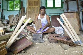 Caste blacksmith india