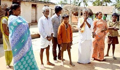 Dalits social boycott